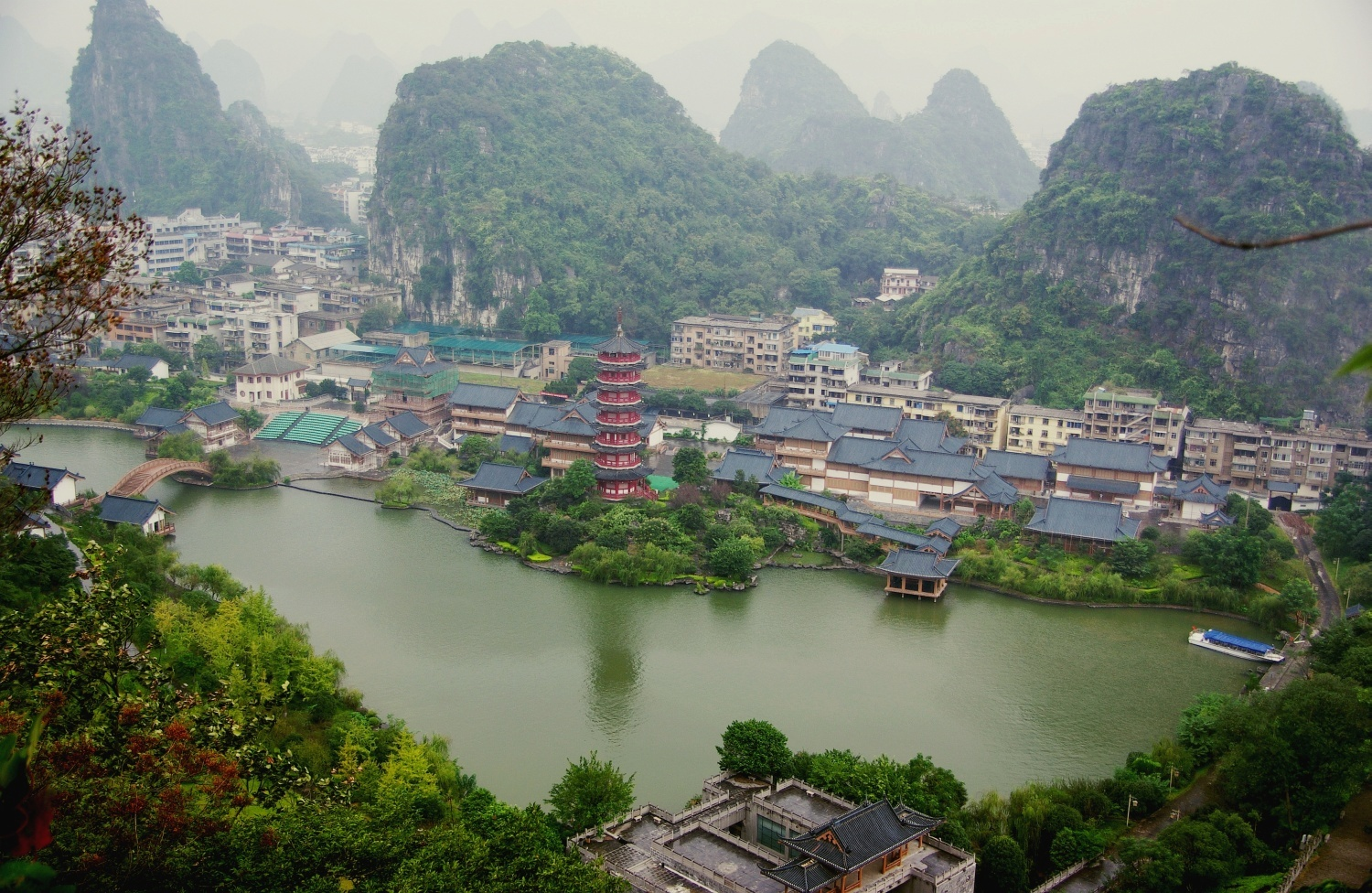 Guilin Hills China A Surreal Landscape
